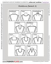 Fashion Design Illustration Fashion Design Drawing Online Drawing Collar Neckline For Fashion
