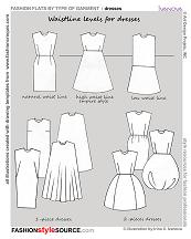 waist level dresses