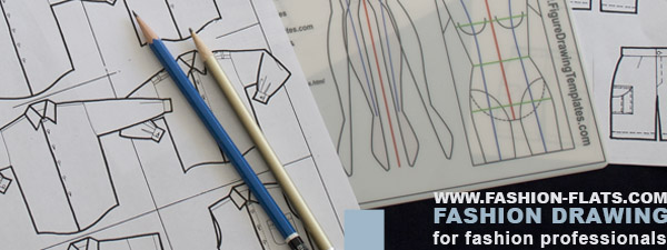 fashion design illustration & fashion design drawing online. how to draw fashion flats: fashion technical drawing.