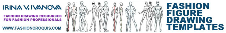 Drawing Figure with Figure Drawing Templates by Irina V. Ivanova