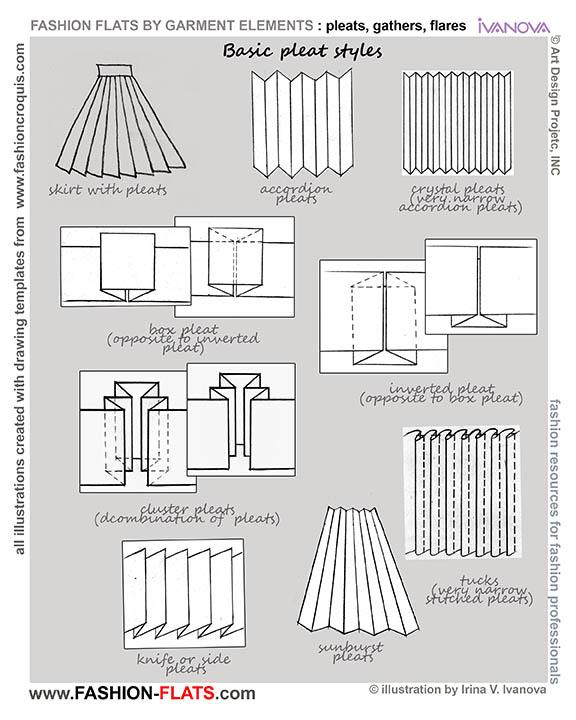 pleats